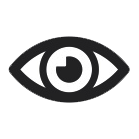 Eye Icon sin fondo blanco
