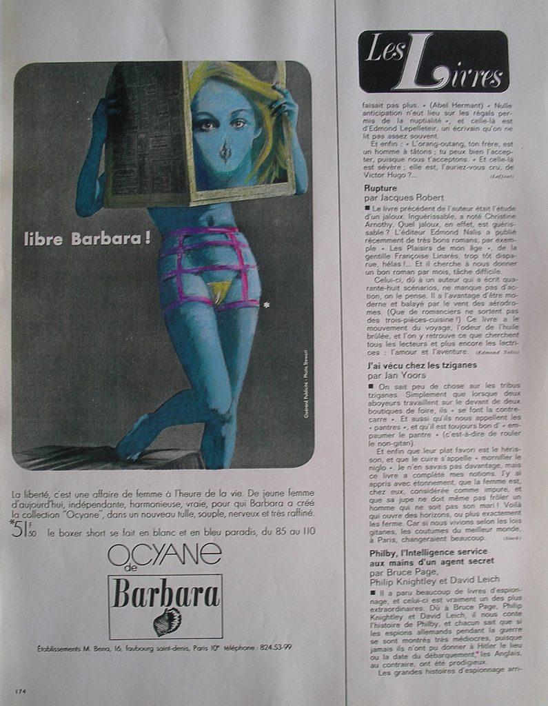 Luis Pita | Intervenciones | Interventions | serie «Lencería y accesorios para esclavas del hogar» (1990) | Faja Bárbara | series «Lingerie and accessories for household slaves» | Corset Barbara
