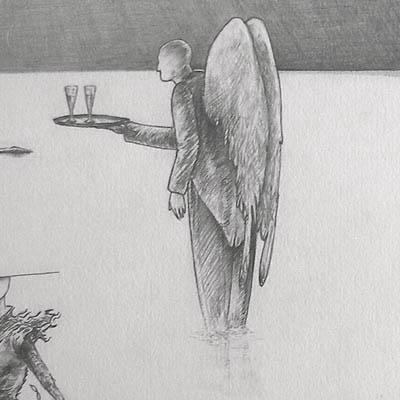 Luis Pita   Dibujos a lápiz   Pencil Drawings   Sin título (1983)   Untitled (1983)