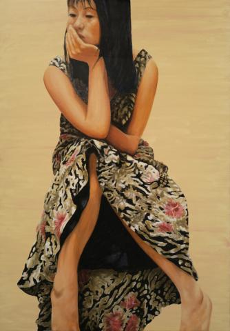 Luis Pita   Pintura   Painting   Óleo sobre lienzo   Oil on canvas   Retrato de J.