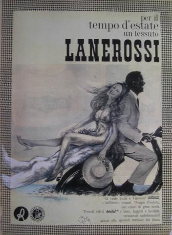 Luis Pita | Intervenciones | Interventions | serie «Los locos años 60'» (1991) | Vespa | series «The roaring 60's» |