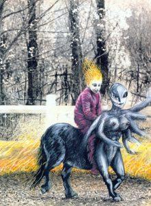 Luis Pita   Intervenciones   Interventions   serie «Los locos años 60'» (1991)   Niño de Fuego   series «The roaring 60's»   Child of Fire
