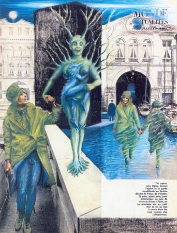 Luis Pita | Intervenciones | Interventions | serie «Los locos años 60'» (1991) | Monde Actualités | series «The roaring 60's» | Monde Actualités
