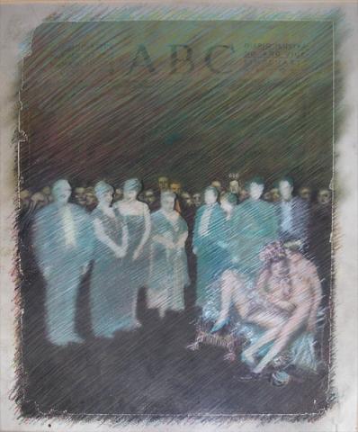 Luis Pita | Intervenciones | Interventions | serie «Los locos años 30'» (1991) | ABC | series «The roaring 30's» | ABC
