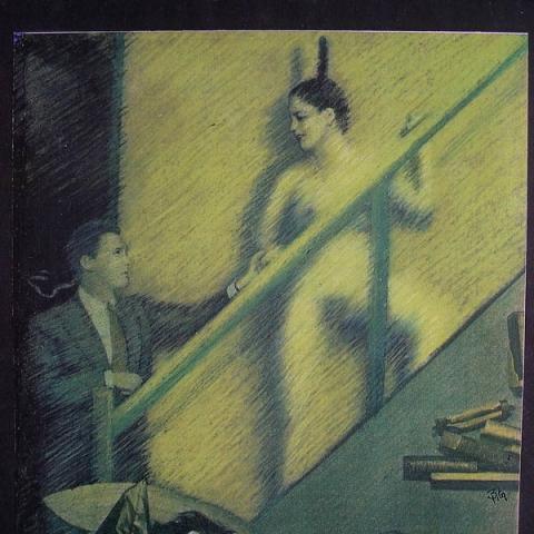 Luis Pita | Intervenciones | Interventions | serie «Los locos años 30'» (1991) | Sueños | series «The roaring 30's» | Dreams