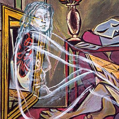 Luis Pita | Intervenciones | Interventions | Serie «Mitos y Apariciones» | series «Myths and Apparitions» | Aparición en Picasso 1 | Apparition on Picasso 1