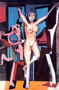 Luis Pita   Intervenciones   Interventions   Serie «Mitos y Apariciones»   series «Myths and Apparitions»   Aparición en Picasso 3   Apparition on Picasso 3