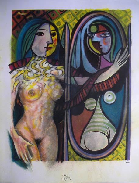 Luis Pita | Intervenciones | Interventions | Serie «Mitos y Apariciones» | series «Myths and Apparitions» | Aparición en Picasso 5 | Apparition on Picasso 5