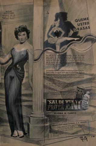 Luis Pita | Intervenciones | Interventions | serie «Los locos años 60'» (1991) | series «The roaring 60's» | Susan Hayward