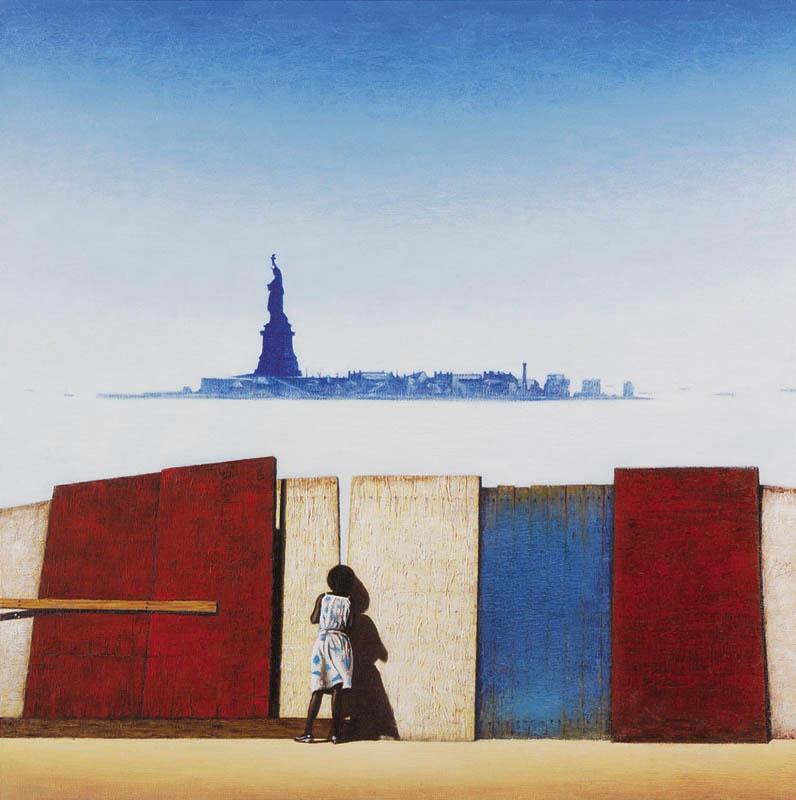 Luis Pita | Pintura | Painting | American Painting | Óleo sobre lienzo (50x50cm) | Oil on canvas