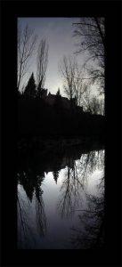 Luis Pita | Series Fotográficas | Photographical series | Paisajes españoles | Spanish Landscapes | (2007)Reflejo 1 - Alcázar (Segovia)