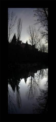 Luis Pita | Series Fotográficas | Photographical series | Paisajes españoles | Spanish Landscapes | (2007) Reflejo 1 - Alcázar (Segovia)