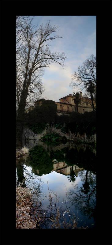 Luis Pita | Series Fotográficas | Photographical series | Paisajes españoles | Spanish Landscapes | (2007) Reflejo 2 - Ceca (Segovia)