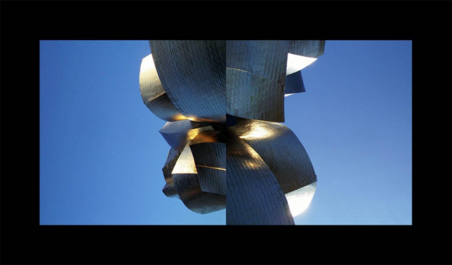 Luis Pita | Series Fotográficas | Photographical series | Paisajes españoles | Spanish Landscapes | (2008) About Frank Ghery - Guggenheim Bilbao  (Vizcaya)