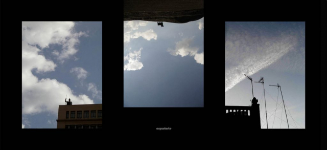 LLuis Pita | Series Fotográficas | Photographical series | Trazos de realidad | Strokes Of Reality | Españaña (2007) Triptico