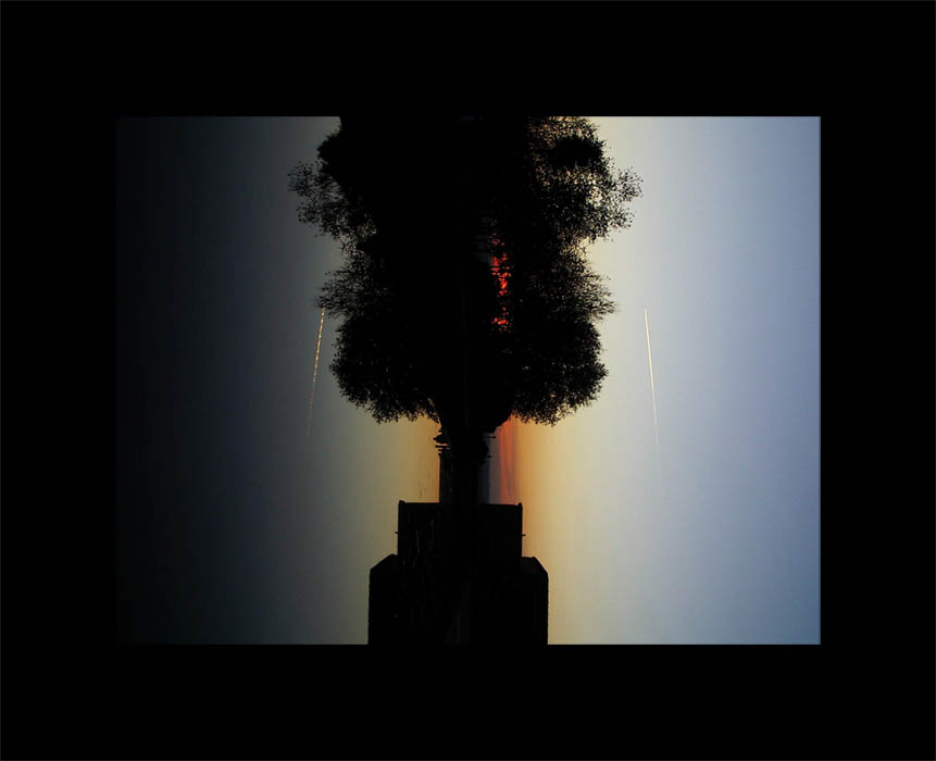 Luis Pita | Series Fotográficas | Photographical series | Paisajes españoles | Spanish Landscapes | (2007) Reflejo en el Atardecer | Reflection on Sunset