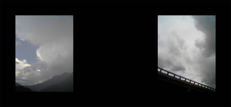 Luis Pita   Series Fotográficas   Photographical series   Trazos de realidad   Strokes Of Reality   Vacio (2007) Diptico   Void