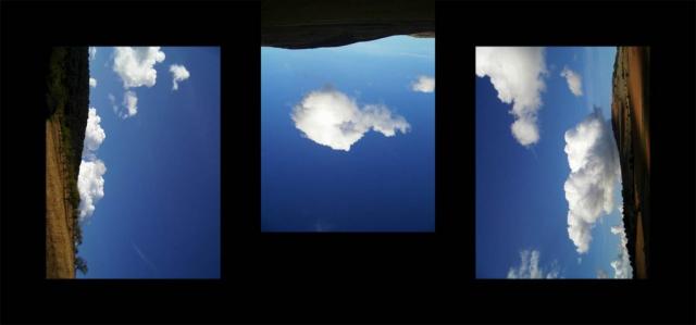 Luis Pita   Series Fotográficas   Photographical series   Trazos de realidad   Strokes Of Reality   Ventana en Teruel (2007) Triptico   Window in Teruel