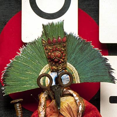 Luis Pita | Montajes tridimensionales | 3-Dimensional Assemblies | El Mago | Le Magicien