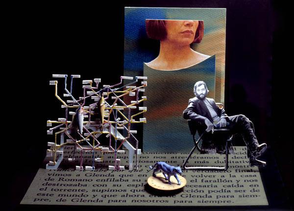 Luis Pita | Ilustración Editorial | Book Illustration | Montaje tridimensional para cubierta de libro | 3-Dimensional Assemblies for book illustration | Cuentos Completos | Julio Cortázar | Alfaguara | Grupo Santillana Publisher Group