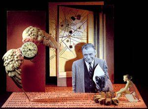 Luis Pita | Ilustración Editorial | Book Illustration | Montaje tridimensional para cubierta de libro | 3-Dimensional Assemblies for book illustration | Cuentos Completos | Mario Benedetti | Alfaguara | Grupo Santillana Publisher