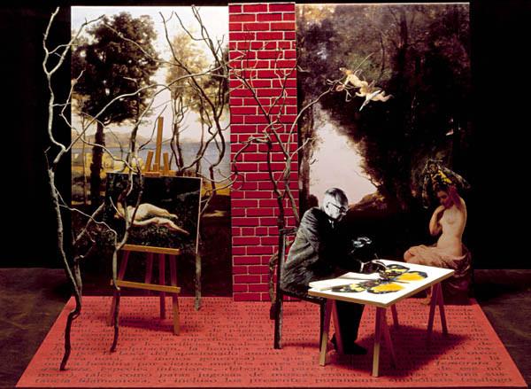 Luis Pita | Ilustración Editorial | Book Illustration | Montaje tridimensional para cubierta de libro | 3-Dimensional Assemblies for book illustration | Cuentos Completos | Nabokov | Alfaguara | Grupo Santillana Publisher Group