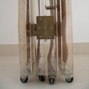 Luis Pita   Montajes tridimensionales   3-Dimensional Assemblies   biombo (fragment of the wheels)