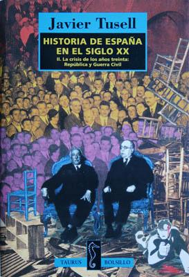 Luis Pita | Ilustración Editorial | Book Cover Illustration | Javier Tusell | Historia de España | Collage