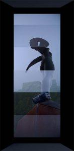 Luis Pita | Intervenciones Fotográficas (Retoques y manipulaciones) | Photographic Interventions (Retouching and manipulations) | Doble Angel Sin Alas (con marco) (apres Mitoraj)