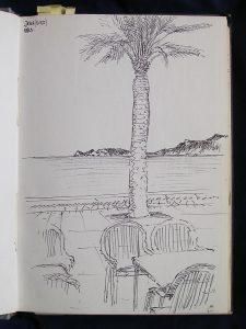 Luis Pita | Cuaderno de Apuntes de Viajes | Travel Sketchbooks | 000/ Puerto de Jávea (1991)