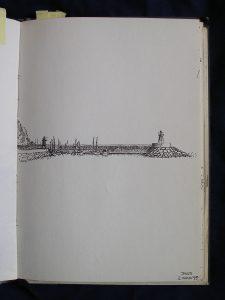 Luis Pita | Cuaderno de Apuntes de Viajes | Travel Sketchbooks | 005/ Puerto de Jávea (1995)
