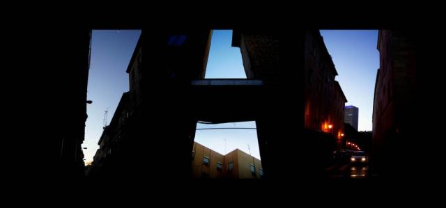 Luis Pita   Series Fotográficas   Photographical series   Trazos de realidad   Strokes Of Reality   La Letra A (2007) Triptico   The A letter