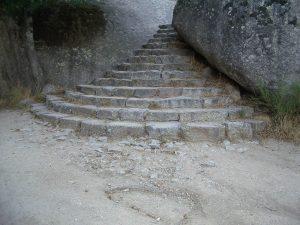 Luis Pita | Fotografía | Photography | Arquitecturas | Architectures | 2006-escaleras de acceso a-silla-felipe-II-el-escorial-madrid