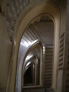 Luis Pita | Fotografía | Photography | Arquitecturas | Architectures | 2008-escaleras-circulo-bellas-artes-madrid