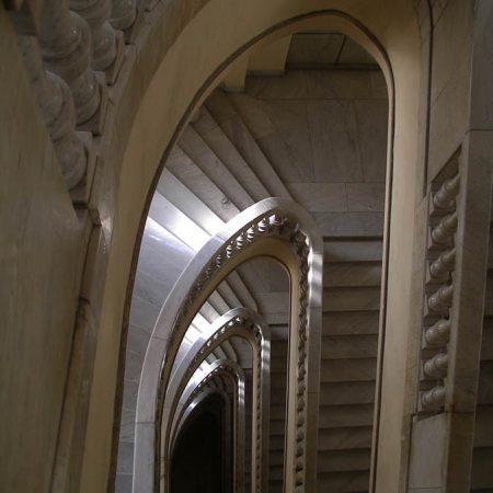 Luis Pita | Fotografía | Photography | Arquitecturas | Architectures | 2008 | Escaleras de mármol del Circulo Bellas Artes | Madrid | Escaleras | Marble stairs | Spain