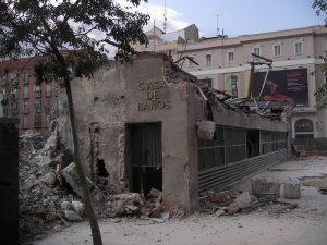 Luis Pita | Fotografía | Photography | Arquitecturas | Architectures | 2009-Demolición-Casa-de-Baños-La-Latina-Madrid
