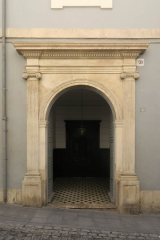Luis Pita | Fotografía | Photography | Arquitecturas | Architectures | 2016 | Puerta de palacete en el Casco Antiguo | Gate mansion in the Old Town | Alicante | Spanish Mediterranean Sea