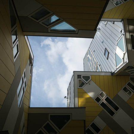 Luis Pita | Fotografía | Photography | Arquitecturas | Architectures | 2016 | diseño arquitectónico ultramoderno de los años 60, las casas cubo son un símbolo de la ciudad de Rotterdam | 60s ultramodern architectural design, the cube houses are a symbol of the city of Rotterdam | Kijk-Kubus | Cube Houses | Rotterdam | The Netherlands