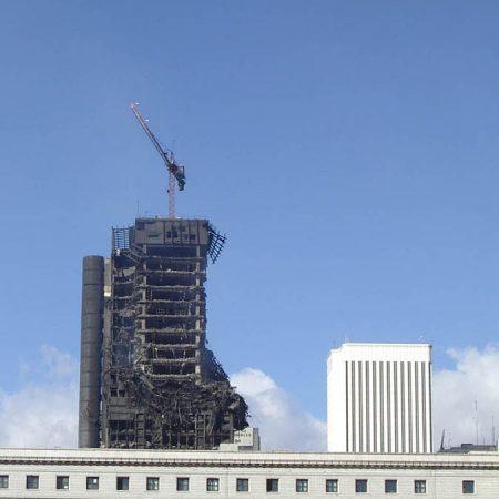 Luis Pita | Arquitecturas | Architectures | 2005 | Madrid | Edificio quemado