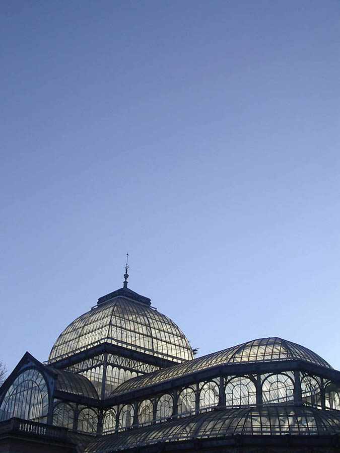 Luis Pita | Fotografía | Photography | Ciudades | Cities | (2005) Madrid | Spain | Palacio de Cristal del Parque de El Retiro en plena centro de la ciudad | Crystal Palace in Retiro Park in the middle of city center |