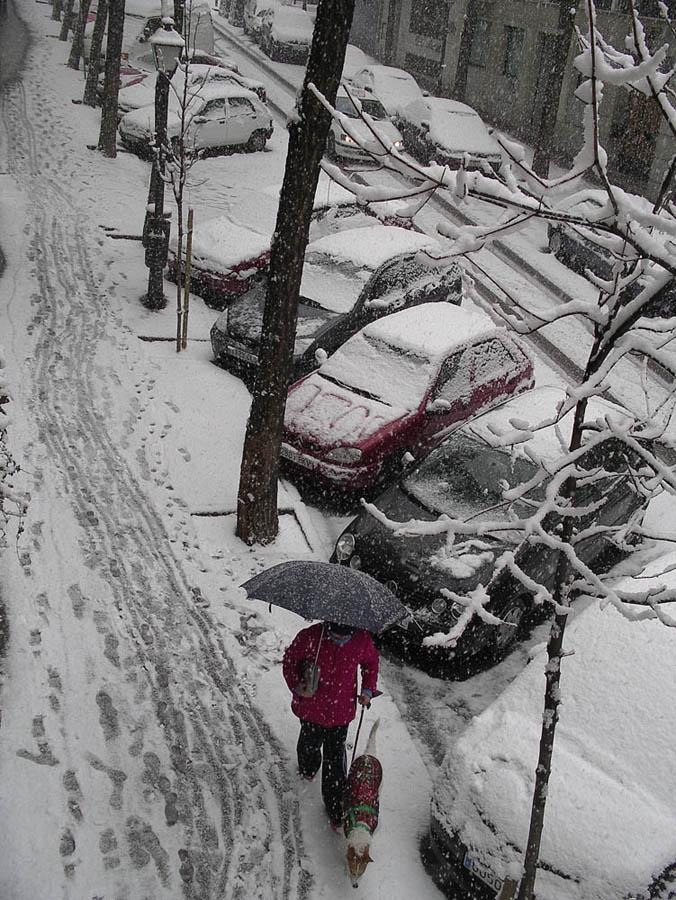 Luis Pita | Fotografía | Photography | Ciudades | Cities | 2009-madrid-nevada-en-enero