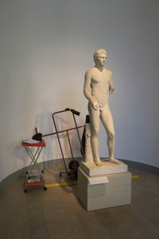 Luis Pita Moreno | Estatuaria | Statuary | (2015) Altes Museum in Works 2 - Berlin