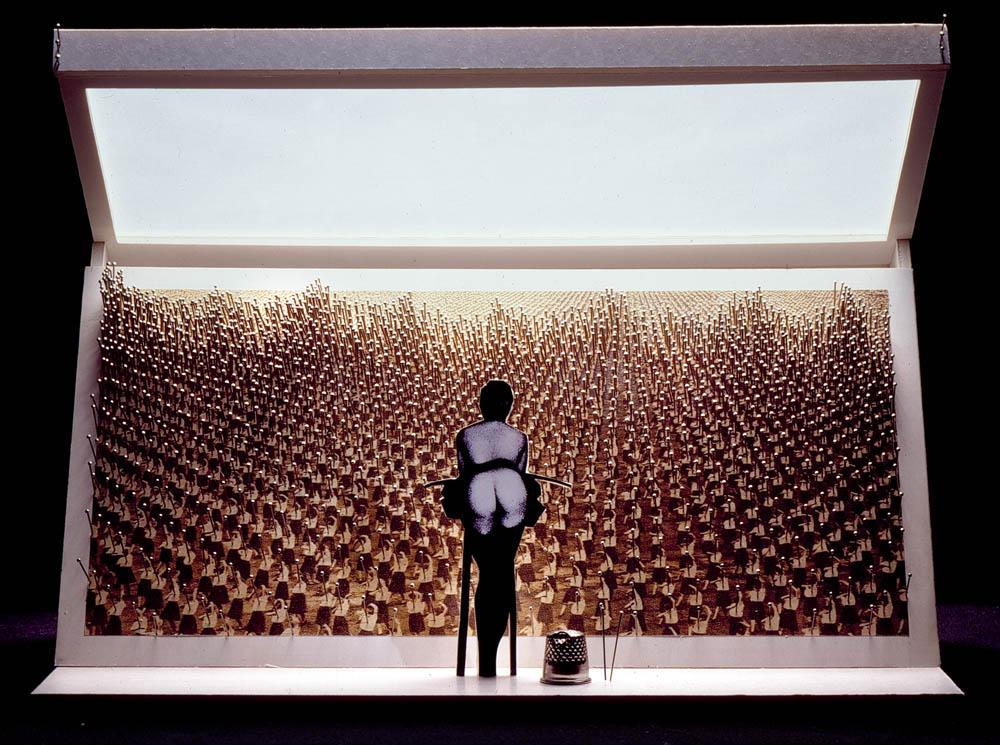 Luis Pita | Montajes tridimensionales | 3-Dimensional Assemblies | (1992) El Artista ante los artistas | The Artist in front of the artists