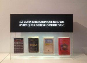 Luis Pita   Obras Tridimensionales   3-Dimensional works   Libros encapsulados   Encapsulated books  