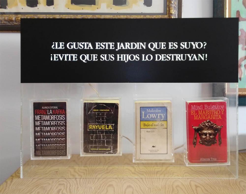 Luis Pita | Obras Tridimensionales | 3-Dimensional works | Libros encapsulados | Encapsulated books |