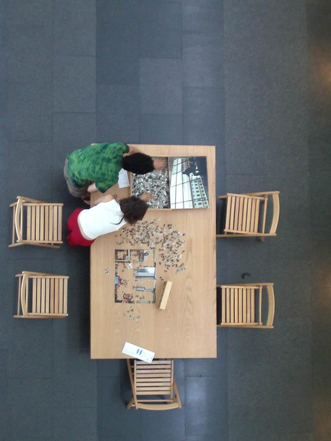Luis Pita | Fotografía | Photography | Visiones interiores | Inner visions |  (2004) Puzzle - Barcelona | Inside the MACBA Museum | Dentro del Museo de ARTE CONTEMPORÁNEO de Barcelona |