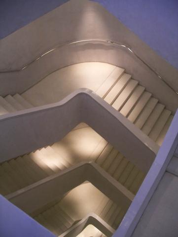 Luis Pita | Fotografía | Photography | Visiones interiores | Inner visions |  (2008) Escaleras CaixaForum - Madrid | Centro de Arte | Art Centre Stairs | Museum Mile Madrid |