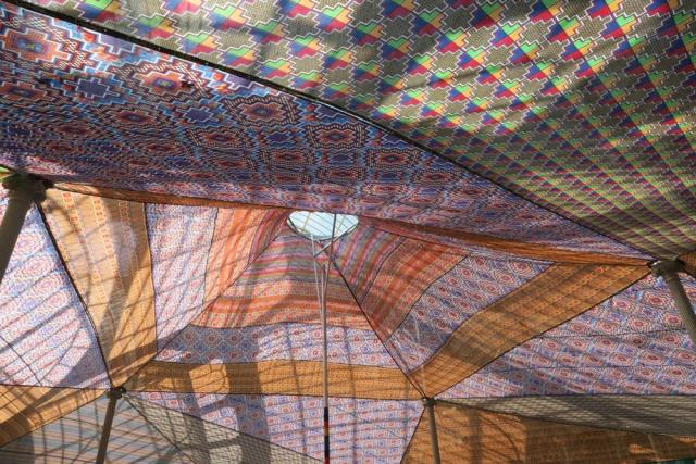 Luis Pita | Fotografía | Photography | Visiones interiores | Inner visions |  (2015) Jaima - Madrid | Arab tent inside the Glass Palace of Park El Retiro | Carpa árabe en el interior del Palacio de Cristal del Parque del Retiro