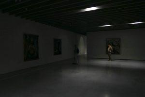 Luis Pita | Fotografía | Photography | Visiones interiores | Inner visions | (2016) Black Out / Apagón en el Centre Pompidou - Málaga | Spain | qué pasa cuando estas en un museo y se apaga la luz | what happens when you are in a museum and turns off the light