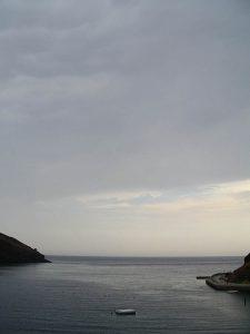 Luis Pita | Fotografía | Photography | Visiones exteriores | Exterior Visions |  (2004) Port-Bou - Girona | The Mediterranean Sea | Border France-Spain | low horizon